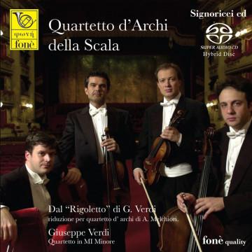 Giuseppe Verdi , Rigoletto - Quartetto d'Archi della Scala (SACD)