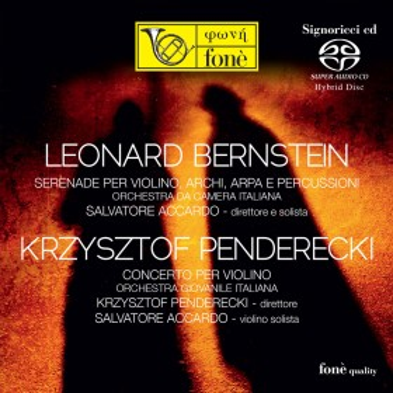 Salvatore Accardo  Bernstein / Penderecki