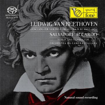 Salvatore Accardo, Ludwig Van Beethoven - Concerto per violino e orchestra (SACD)